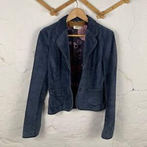 June from Anthropologie 100% Leather Jacket